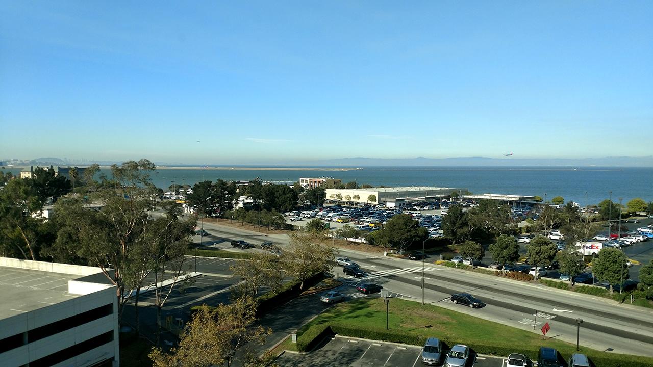 Minha vista do hotel era bem agradável =)