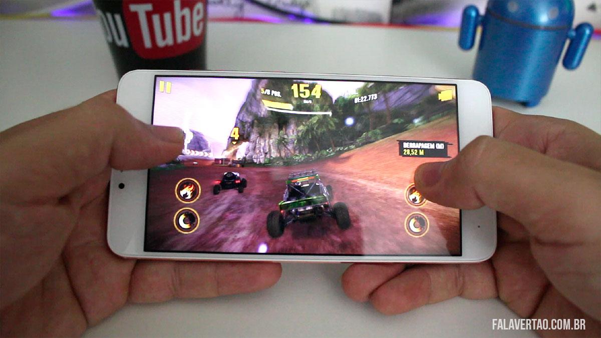 Blu Vivo 6 - Desempenho bom para jogos
